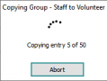 registry module copy group progress