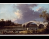 Canaletto (Giovanni Antonio Canal) (1697-1768), A View of Walton Bridge